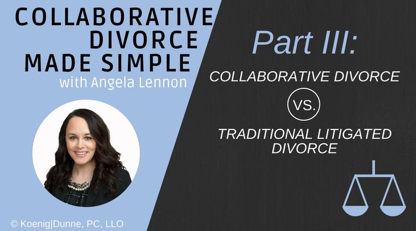Collaborative Divorce vs  Traditional Litigated Divorce - Koenig | Dunne