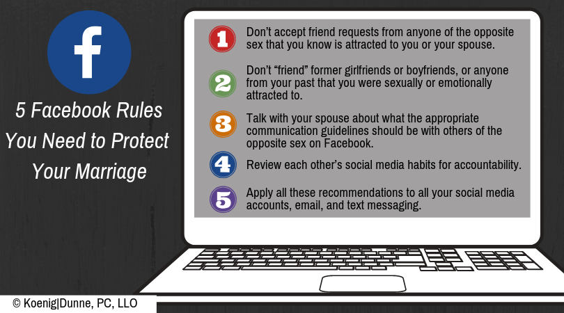 The 5 Facebook Rules You Need to Protect Your Marriage