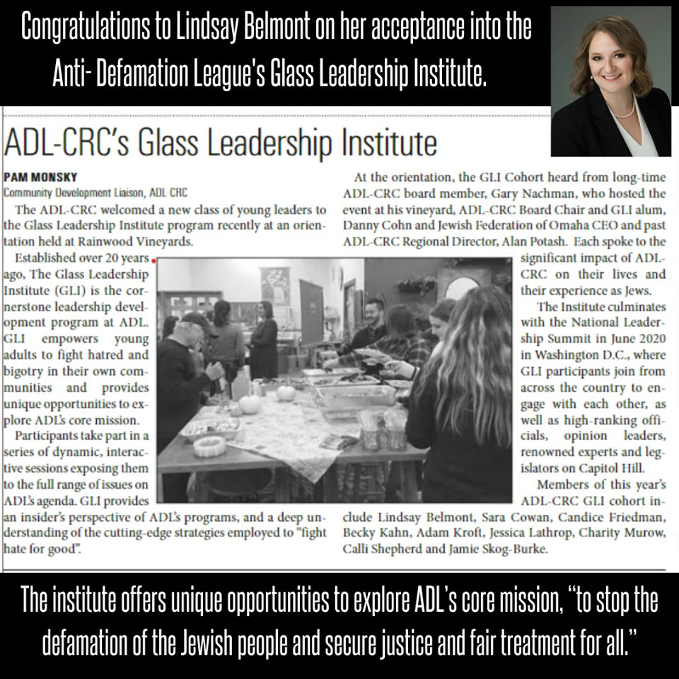 Lindsay Belmont ADL